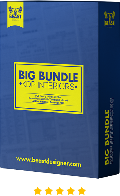 big bundle kdp interior template